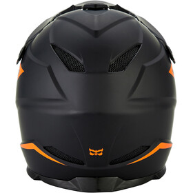 Kali Zoka Helmet Herr matte black/orange